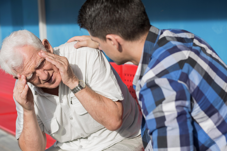 Man with Vestibular Dysfunction